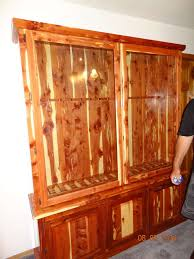 Pine Gun Cabinet Gun Cabinet
