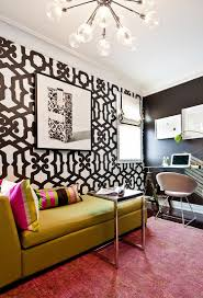 home wall design interior 30 black and white home offices that leave you spellbound