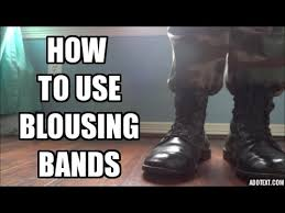 blousing rubbers how to use blousing bands