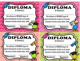 diplomas de primaria descargar diplomas de primaria diplomas originales para la graduación material didáctico y
