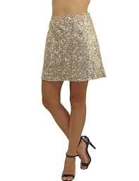 sequin skirt gold sequin skirt flared skirt party skirt saved by