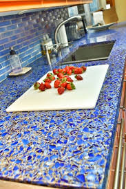 Glass Kitchen Countertops Incredible Recycled Glass Countertops Inspiration Home Kitchen