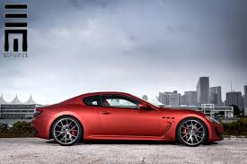 2016 maserati granturismo custom maserati granturismo mc stradale kicks back on custom wheels w video