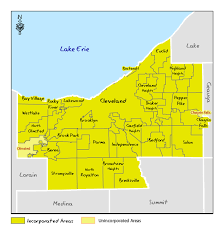 Ohio Map With Cities by Ohio Dnr Lake Erie Access Guide Cuyahoga County