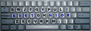 keyboard layout letter frequency qwerty dvorak and the asset keyboard