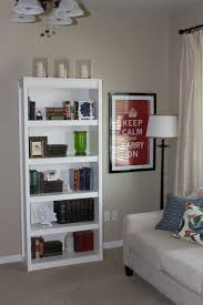 Decorate Shelves Fascinating Bookcase Decorating Ideas Living Room With Picture