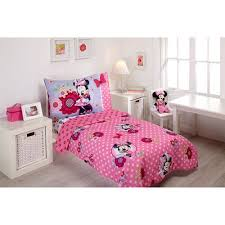 Minnie Crib Bedding Set Minnie Mouse Bedroom Set Also With A Minnie Mouse Size