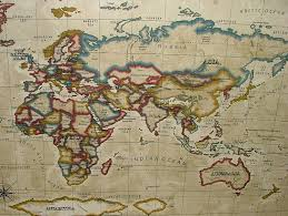 Old World Map 100 Map Fabric Image Gallery Old World Map Fabric Bunny