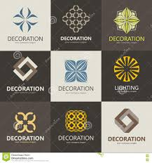 a collection of logos for interior furniture shops companies