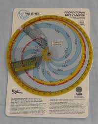 Padi Dive Table by Recreational Dive Planner Wikipedia