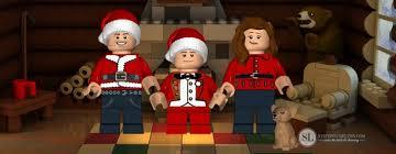 lego minifigure family ornaments free personalized customized