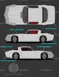 street stock template 2 of racing graphics