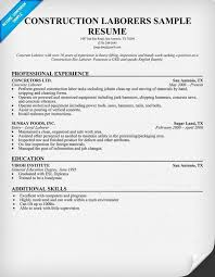 Inspector Resume Sample Construction Resume Template Click Here To Download This