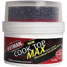 how to remove grease from the top of kitchen cabinets weiman cooktop cleaner max 9 ounce easily remove burned on food grease and watermarks leaving your glass cook top sparkling