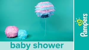 gender reveal baby shower ideas boy or confetti lantern