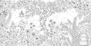 secret garden coloring pages coloring page