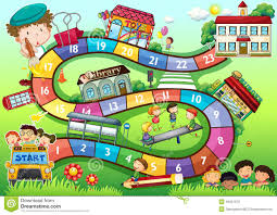 theme board game stock vector image 46451973