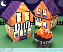 halloween cupcake liners make a halloween cupcake box spooky sweet shoppe youtube