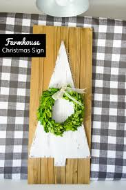 craftaholics anonymous simple farmhouse christmas sign