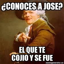 Jose Meme - meme joseph ducreux 眇conoces a jose el que te cojio y se fue 1742