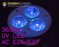 led uv light bulbs 365nm uv ultraviolet 3 watt led light bulb mr16 12v dc