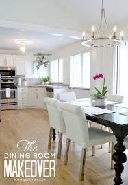 House Makeovers Mesmerizing Dining Room Makeover In Diy Home Interior Ideas With