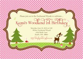 enchanted woodlands fawn fairy birthday invite dimple prints shop