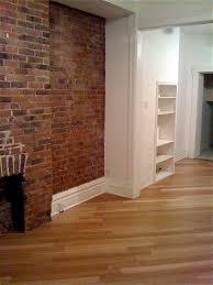 Laminate Flooring Basement Living Room Exposed Brick Bamboo Hardwood Floors Photo Would