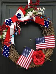 4th of july wreaths awesome handmade 4th of july wreath ideas