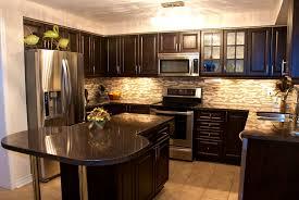 Dark Kitchen Cabinets With Light Countertops - bathroom pleasant santa cecilia granite and dark cabinets light