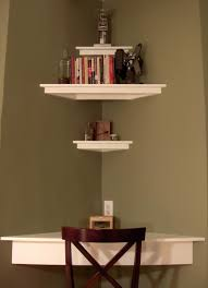 home design corner shelf decorating ideas eclectic expansive also