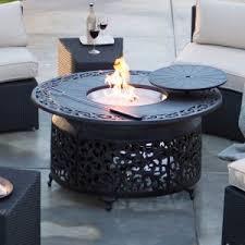 large fire pit table large fire pits 40 in wide and up hayneedle