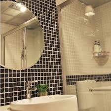 Mosaic Bathroom Mirrors by Wholesale Glazed Porcelain Brick Tile Mosaic Black Square Surface