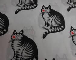 kliban cat sheets etsy