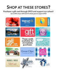 gift card fundraiser scrip gift cards fundraiser sfcs