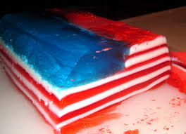 American Flag Words Mike Is Bored American Flag Jello Recipe
