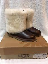 womens ugg patten boots ugg australia patten boot 1008823 chestnut brown leather
