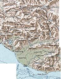 ventura county map david magney ventura county biogeography
