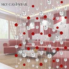 Crystal Beaded Curtains Australia by Online Buy Wholesale Crystal Partition From China Crystal