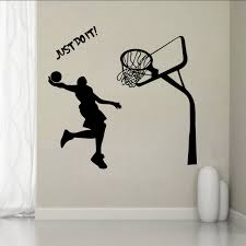 chambre basketball michael basketball lecteur stickers muraux pour chambre d