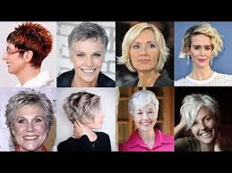 wash and wear hair for elderly women 2018 short haircuts for older women over 50 to 60 youtube