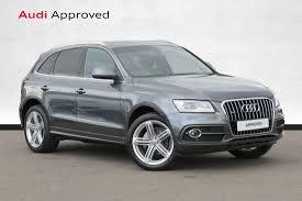 Audi Q5 62 Plate - audi q5 2 0 tdi quattro s line plus 5dr 21 500