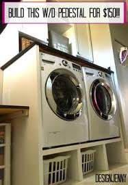 Bosch Laundry Pedestal Washing Machine And Dryer Pedestal Washer Storage And Spaces