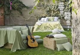 Outdoors Home Decor Summer Decorating Ideas For Beds Inviting To Sleep Outdoors