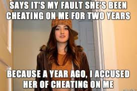 Cheating Wife Memes - if you cheat it s your fault how not to be a crazy bitch
