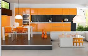 cuisine orange et noir simplitatea si functionalitatea intr o bucatarie minimalista decor