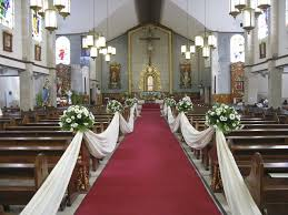 church decorations for wedding how to decorate the church for a wedding wedding corners