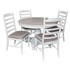 walker round dining table whitewash oak grove collection target