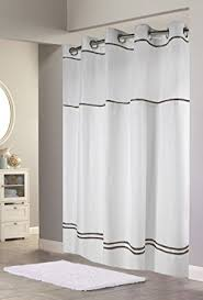 Hookless Shower Curtain Hookless Rbh40my040 Monterey Shower Curtain White