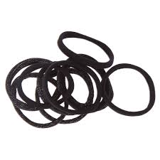 hair ties black glitter rolled hair ties icing us